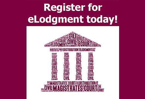 Register for eLodgment today!